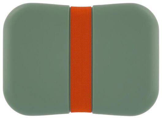 boîte à déjeuner avec élastique vert/rouge - 80600118 - HEMA