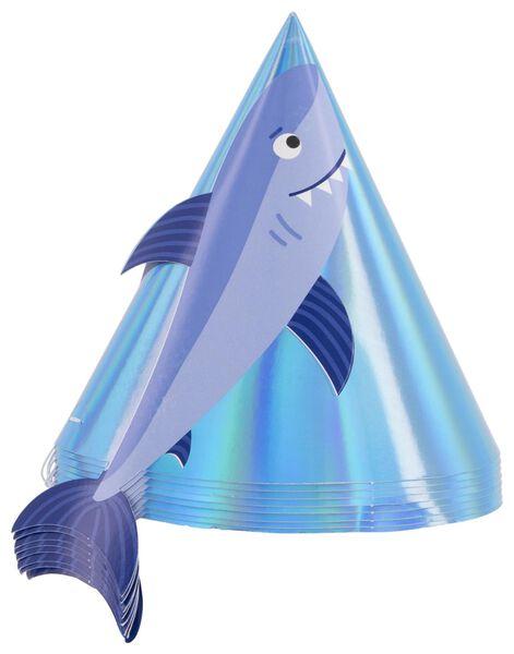 8 party hats - Ø12 cm - underwater - 14200340 - hema
