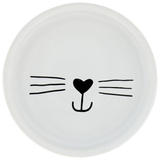 Image of HEMA Cat Bowl Ø14x3 Ceramic White