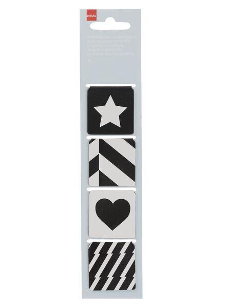 4er-Pack Magnetlesezeichen - 14433358 - HEMA