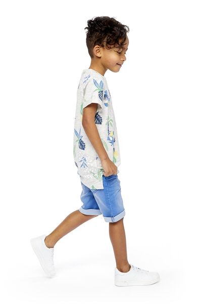 children's shorts comfy fit mid blue mid blue - 1000018951 - hema