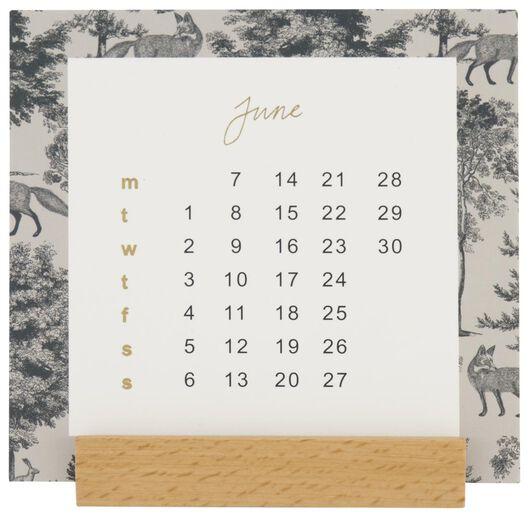 calendrier mensuel 2021 - 10,7x10,7 - 14126693 - HEMA