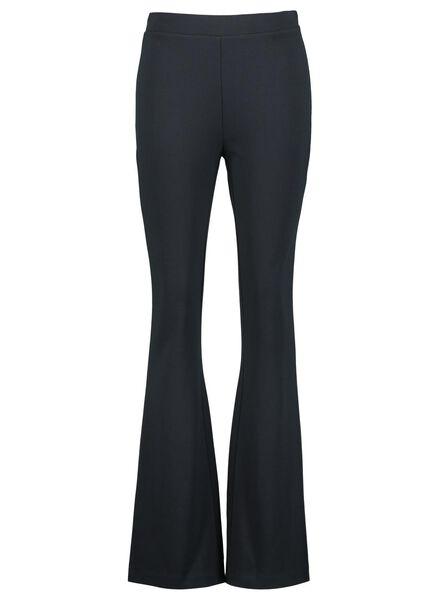 Hosen für Frauen - HEMA Damen Hose Bootcut Schwarz  - Onlineshop HEMA