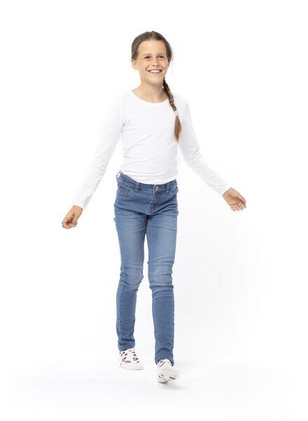 Kinder-Skinnyjeans mittelblau mittelblau - 1000013529 - HEMA