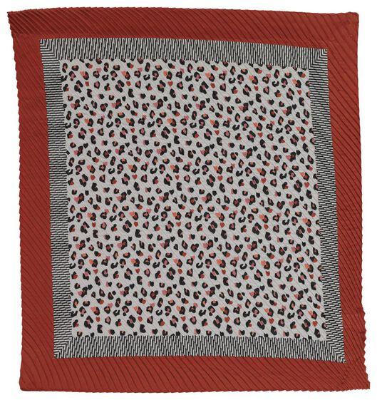 écharpe femme 80x80 - 1700134 - HEMA