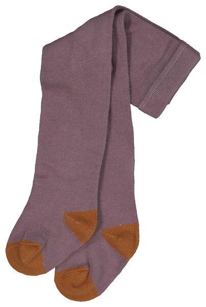 2er-Pack Baby-Strumpfhosen violett violett - 1000020169 - HEMA