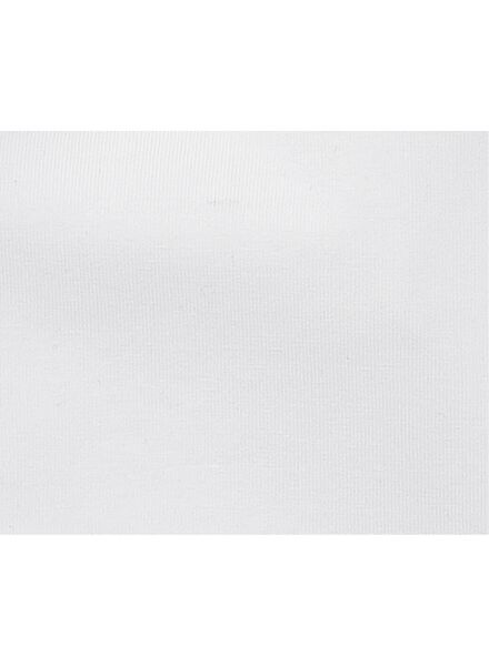 2-pack children's T-shirts - organic cotton white white - 1000019385 - hema