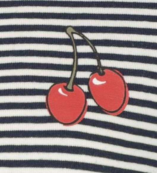 Kinder-T-Shirt dunkelblau dunkelblau - 1000018347 - HEMA