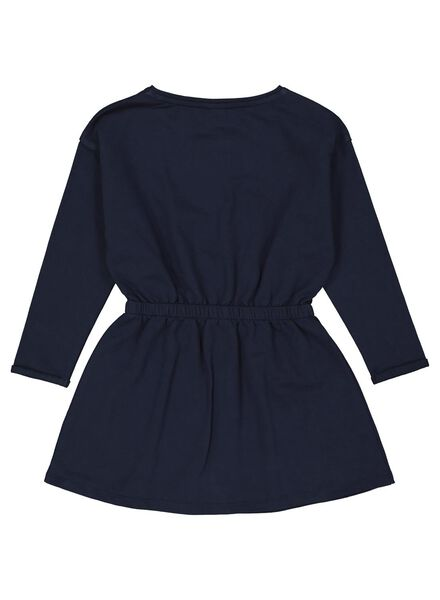 Kinder-Jerseykleid dunkelblau dunkelblau - 1000013551 - HEMA