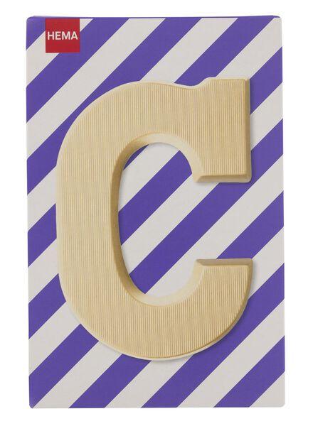 white chocolate letter C - 10037002 - hema