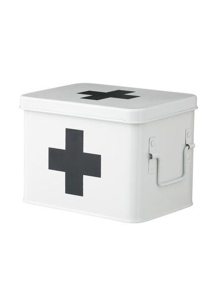 Medikamentenbox, 21.5 cm x 15.5 cm x 15 cm - 80300009 - HEMA