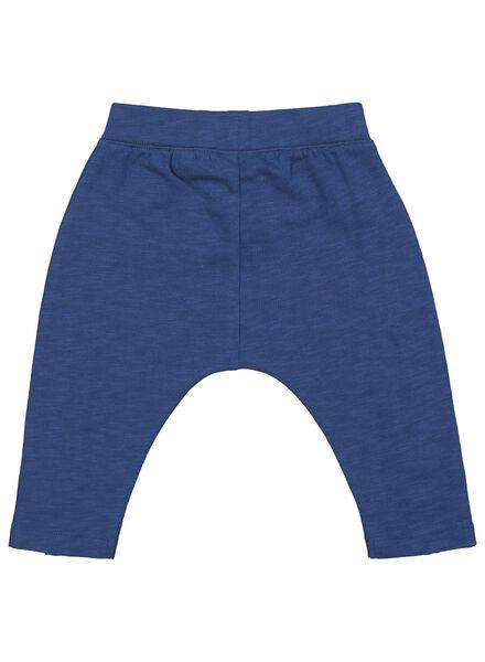 baby sweatpants dark blue dark blue - 1000017488 - hema
