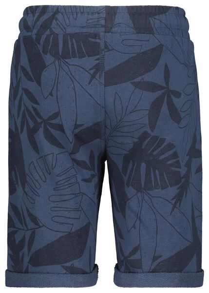 2er-Pack Kinder-Shorts blau blau - 1000019017 - HEMA
