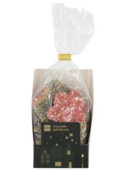 chocolate stars with sugar pearls - 10040020 - hema