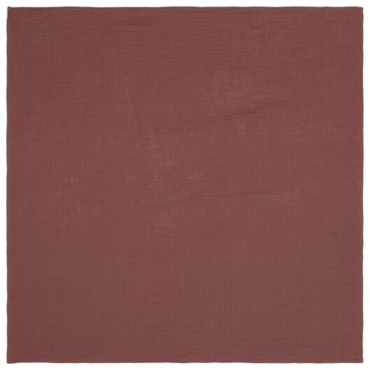 3 muslin cloths 60x60 structured fabric - 33331020 - hema