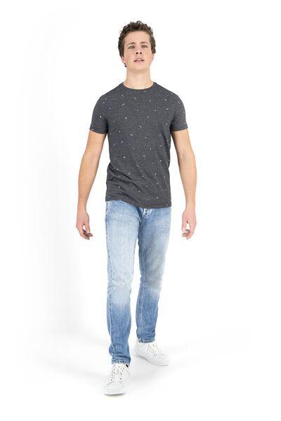 men's T-shirt black black - 1000018198 - hema