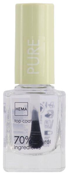 top coat nail polish - 11240232 - hema