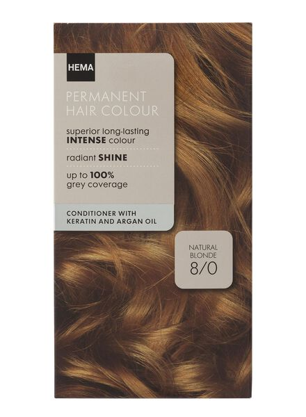 hair dye natural blonde 8/0 - 11050010 - hema