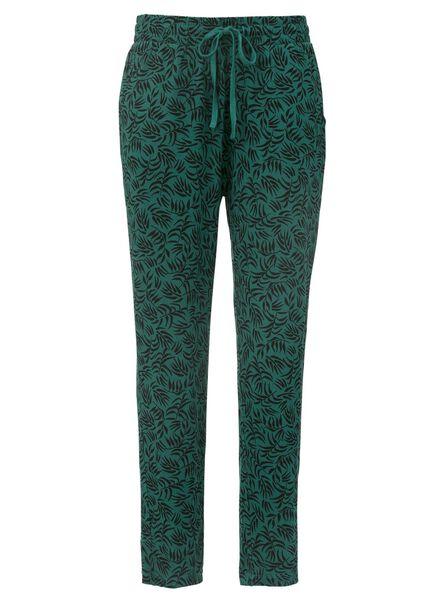 women's trousers green green - 1000007499 - hema