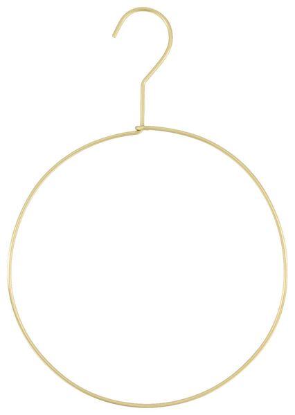 Schal-/Gürtelbügel, Ø 20 cm, Metall, golden - 39821120 - HEMA