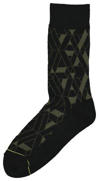 men's socks black black - 1000020367 - hema