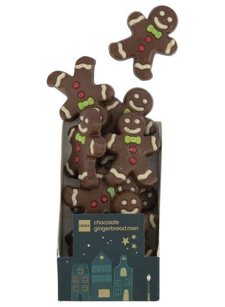 chocolat ginger breadman caramel sel marin - 10040036 - HEMA