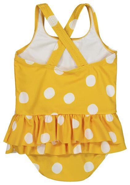baby badpak geel geel - 1000019711 - HEMA