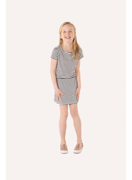 children's dress black/white black/white - 1000005676 - hema