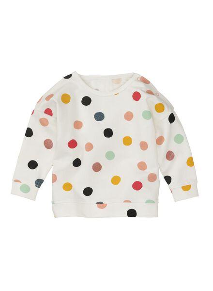 HEMA Baby Sweatshirt Eierschalenfarben