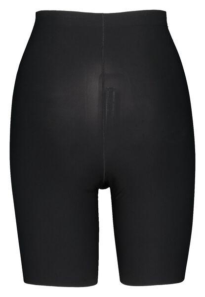damesbiker second skin zwart XL - 21580174 - HEMA