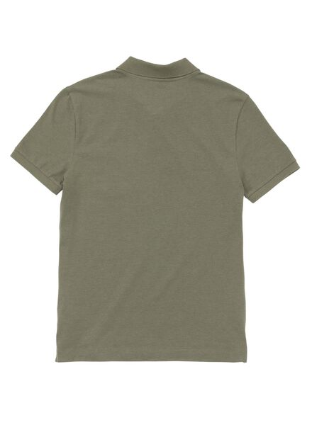 men's polo shirt green green - 1000005762 - hema