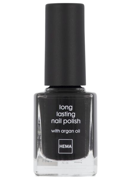 long-lasting matt nail polish 65 midnight - 11240165 - hema