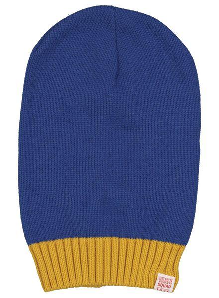 bonnet enfant bleu bleu - 1000016257 - HEMA