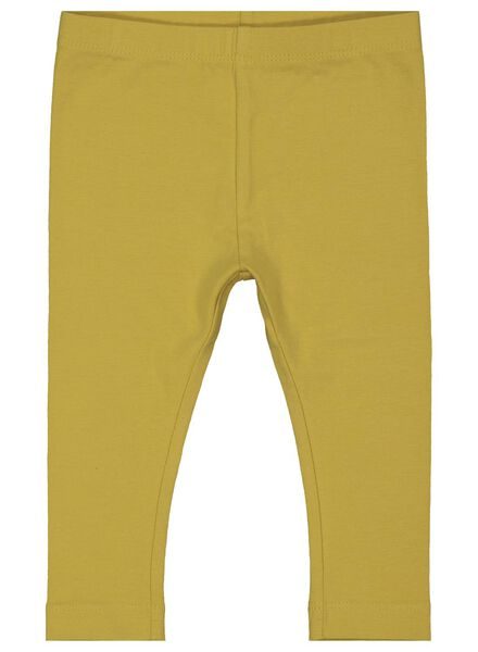 2-pack baby leggings yellow yellow - 1000017441 - hema