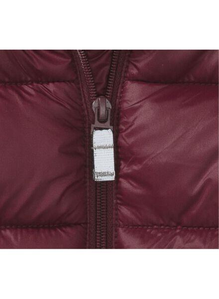 children's jacket dark red dark red - 1000010325 - hema