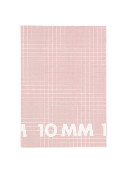3 Hefte DIN A4, kariert 10 mm - 14101616 - HEMA