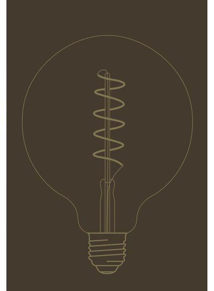 LED-Lampe, 4W, 200Lumen, Kugel, gold - 20020064 - HEMA