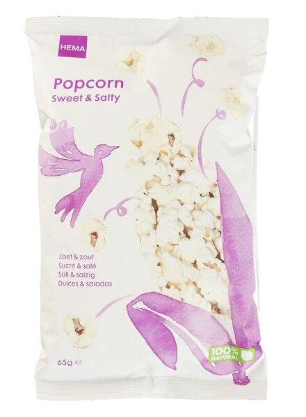 Popcorn, süß & salzig - 10661135 - HEMA