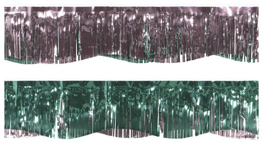 Foliengirlande, 3.5 m, grün/rosa - 14200413 - HEMA