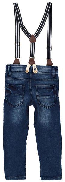Kinder-Jeans, Regular Fit dunkeljeansfarben dunkeljeansfarben - 1000016828 - HEMA