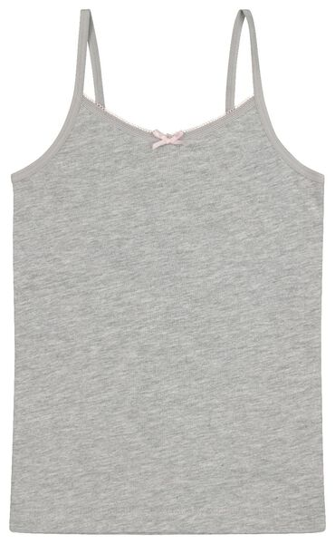 2-pack children's vests grey grey - 1000020447 - hema
