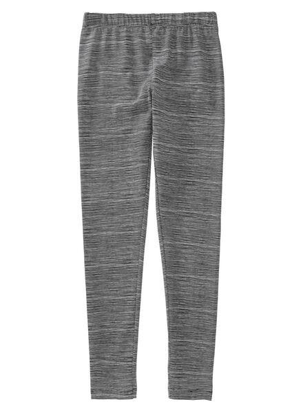 2-pack children's leggings black black - 1000005749 - hema