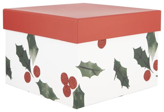 gift box 21x21x15 holly - 25700161 - hema
