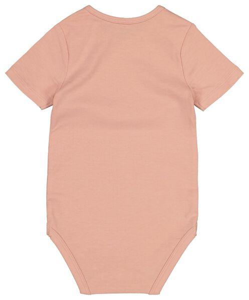 bodysuit organic cotton stretch salmon pink salmon pink - 1000017801 - hema
