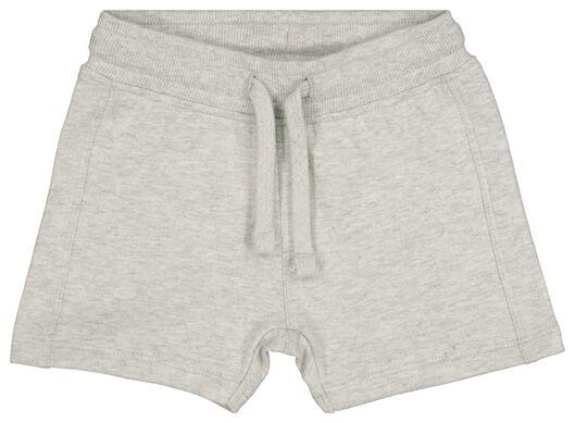 Baby-Sweatshorts graumeliert graumeliert - 1000017824 - HEMA