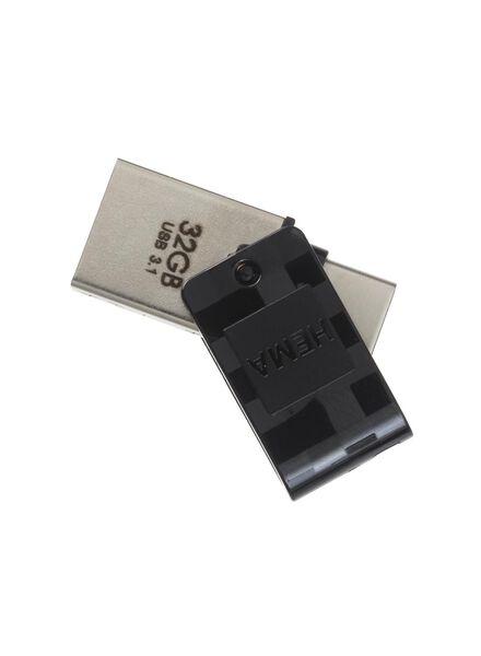 Clé USB 3.1 + type C 32 Go - 39520004 - HEMA