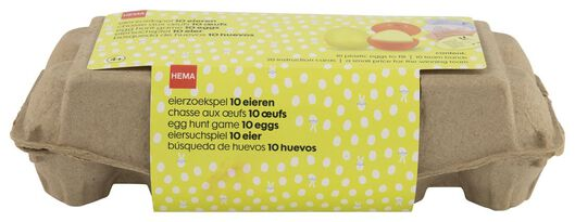 Image of HEMA Egg Hunt Game With 10 Eggs