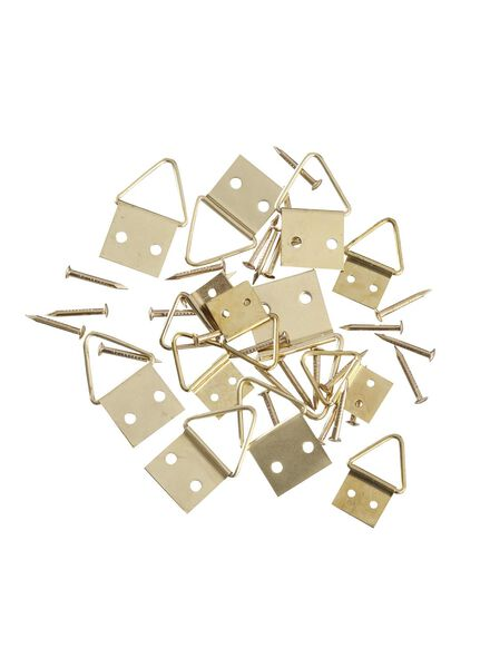 Image of HEMA 13-pack Painting Hangers (gold)