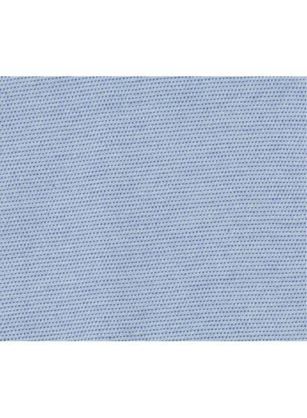 men's polo shirt - organic cotton light blue light blue - 1000006144 - hema