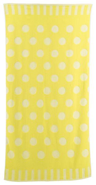 serviette de plage coton 90x180 pois - 5290048 - HEMA